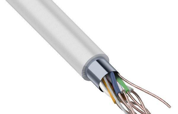 FTP 4PR внутренний серый (305м)